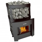 Печь банная Grill'D Fortuna 280G window black