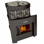 Печь банная Grill'D Leo II 240 window black