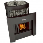 Печь банная Grill'D Leo II 130 window black